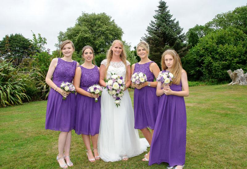 Robe demoiselle d honneur violette