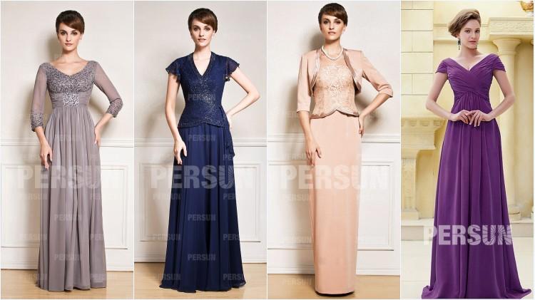 Robes mère de mariee longues